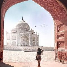 #TajMahal - #Agra - #India Photo Credit: @tamara