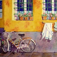 Bicycle Art Italy Italian