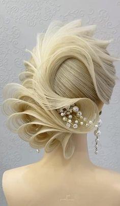 Easy Hairstyles For Long Hair, Up Hairstyles, Wedding Hairstyles, Shot Hair Styles, Curly Hair Styles, Hair Style Vedio, Short Bridal Hair, Competition Hair, Ballroom Hair