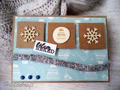Winter card DIY