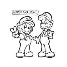 Coloriage Mario Bros A Imprimer Gratuit Coloriage Mario