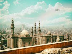 Cairo Egypt Sultan Hassan masjed ♥