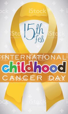 Golden Lace in Honor to International Childhood Cancer Day