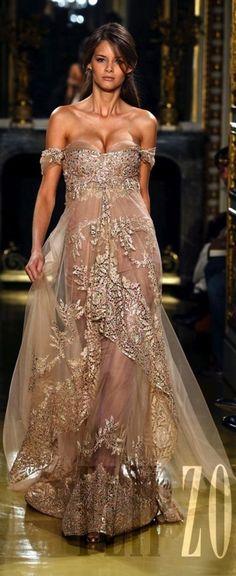 Zuhair Murhad runway fashion gown!