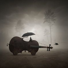 Leszek Bujnowski is a talented artist and photographer based in Poland who loves surrealism. Surreal Photos, Surreal Art, Surrealism Photography, Fine Art Photography, Photography Magazine, Photomontage, Photo D Art, Art Festival, Photo Manipulation