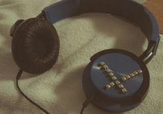 DIY headphone decor