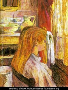 Woman at the window - Henri De Toulouse-Lautrec - www.toulouse-lautrec-foundation.org