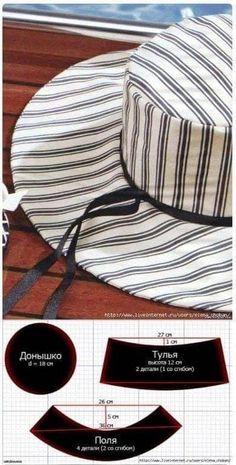 Awesome Picture of Beanie Hat Pattern Sewing Sewing Hacks, Sewing Tutorials, Sewing Crafts, Sewing Projects, Hat Patterns To Sew, Dress Sewing Patterns, Pattern Sewing, Pattern Drafting, Fashion Sewing