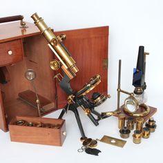Watson Van Heurck  Microscope   1890
