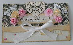 Scrapdesign / Wedding cangratulation / Scrapbooking envelope / DIY