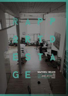 Rapport De Stage ENSAG 2015 3 Mois Chez ADHOC Architectes Montral
