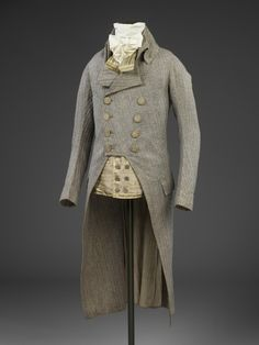 Suit 1790s The Victoria & Albert Museum - OMG that dress!
