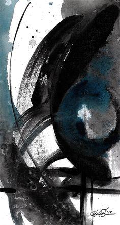 Soul Dance 2  Original Abstract Acrylic by KathyMortonStanion, $60.00