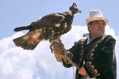 Ørnejægere findes både i Kazakhstan og Kirgisistan. Foto Viktors Farmor