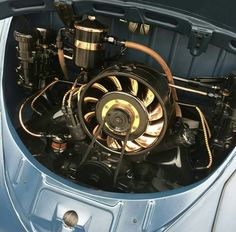 Vw Engine, Hot Vw, Baja Bug, Volkswagen Karmann Ghia, Beetle Car, Performance Engines, Race Engines, Vw Cars, Porsche 356