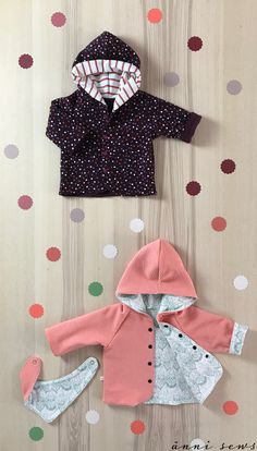 Most current Photographs sewing baby set Style Wendejacke // Baby // nähen // DIY Sewing Baby Clothes, Cute Baby Clothes, Diy Clothes, Clothes Storage, Baby Sewing Projects, Sewing For Kids, Knitting Projects, Sewing Diy, Baby Turban
