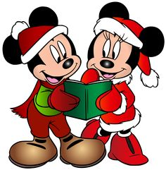 Minnie And Mickey Mouse Christmas Free Clip Art Image - Mickey Mouse Minnie Mouse Goofy Donald Duck Pluto PNG Mickey Mouse Y Amigos, Minnie Y Mickey Mouse, Mickey Mouse Christmas, Christmas Cartoons, Christmas Characters, Mickey Mouse And Friends, Disney Mickey, Minnie Mouse Images, Christmas Clipart