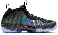 NIKE AIR FOAMPOSITE ONE HOLOGRAM [MULTI-COLOR / METALLIC SILVER-BLACK] (314996-900)