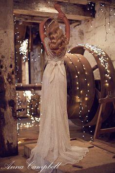Anna Campbell Neuste Schöne Spitze Hochzeitskleider Kollektion – Forever Entwined   Hochzeitsblog Optimalkarten