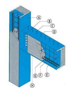 Steel Structure Buildings, Concrete Structure, Metal Structure, Steel Trusses, Steel Columns, Brick Architecture, Architecture Details, Civil Engineering Design, Steel Building Homes