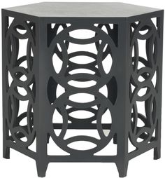Post-1950 Tables Lane Furniture Mediterranean Rope Twist Octagonal Accent End Table 1424-18 Soft And Light