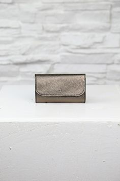 Metallic Pouch - Handmade in Minnesota - Danielle Sakry