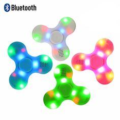 LED & Bluetooth Fidget Spinner