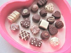 This is my Chocolate Collection and they are beads . I sell them on ebay . So yummy looking you just want to eat them ??