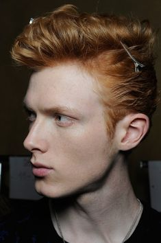 Linus Wordemann @ Backstage at Roberto Cavalli A/W15, ph by Matteo Valle