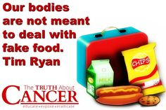 They really aren't. Once you eat healthfully, your body actually rejects food that is not meant to be ingested. Cramps, bloating, and so on are your body's way of telling you to stop feeding it fake food. // The Truth About Cancer