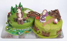Torta Masha Orso 84
