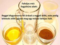 Fahéjas, mézes ital fogyáshoz