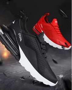 purchase cheap 28098 7b7d3 US  24.14 48% OFF Beautiful Red Sneaker Hot New 270 Air Cushioning Running  Shoes Men Casual Outdoor Sport Jogging Comfortable Mesh Breathable Cool-in  ...