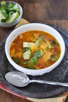 Simple Chicken Tortila Soup