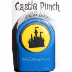 Your WDW Store - Disney Scrapbooking Paper Punch - Cinderella Castle