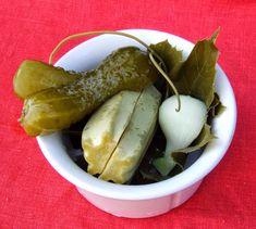 Székely Konyha: Kovászos uborka Pickles, Cucumber, Food, Essen, Meals, Pickle, Yemek, Zucchini, Eten