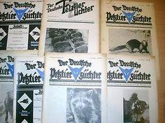 Der Deutsche Pelztierzüchter 7 St. Pelz Fachzeitschrift