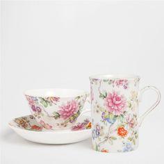 FLORAL PORCELAIN SET - Dinnerware - Tableware | Zara Home United States