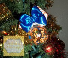 My latest ornament for my SHSU tree!