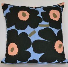 Marimekko Pillow cover x Marimekko Unikko Poppy Pillow Cover Floral Cushion Accent Pillow - Popping Poppies by PantsandPillows Pillow Inserts, Pillow Covers, Accent Pillows, Throw Pillows, Floral Cushions, African Textiles, Japanese Patterns, Textile Patterns, Floral Patterns