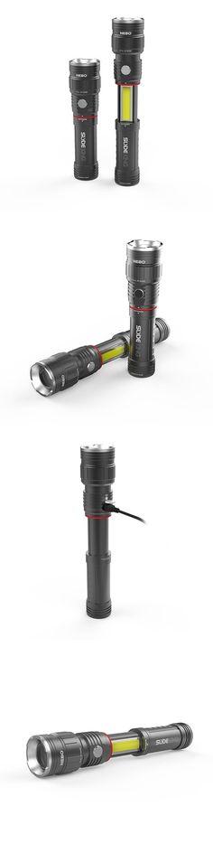Flashlights 16037: Nebo Slyde King 6434 Rechargeable Led Flashlight Work Light Adjustable Zoom -> BUY IT NOW ONLY: $32.99 on eBay!