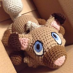 The adorable Rockruff commission was completed the other week and was added to the store as another made-to-order Amigurumi last week! Grab the newest Puppy Pokemon in time for Christmas! :D