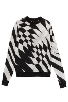 Silk #Printed Front #Sweater By #RAOUL @ http://www.boutique1.com/