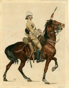21th Lancers, Lancer in Sudan kit (1898) Richard Caton Woodville