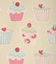 Cupcakes! http://www.justfabrics.co.uk/curtain-fabric-upholstery/sage-cupcakes-fabric/