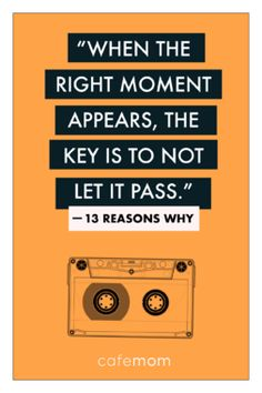 13 reasons why 17 Quotes From Reasons Why' That Remind Us Just How Hard High School Can Be Sad Quotes, Movie Quotes, Book Quotes, Qoutes, Life Quotes, Motivational Quotes, Inspirational Quotes, Heartbreak Quotes, 13 Reasons Why Reasons