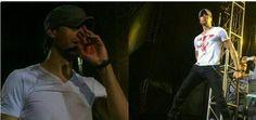 Enrique Iglesias si-a continuat concertul, desi era plin de sange - Eu, Femeia ツ