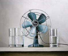 Christopher Stott, Vintage Electric Fan & Water, 2009