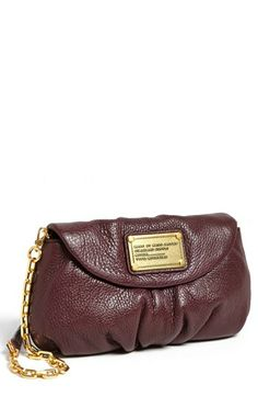 MARC BY MARC JACOBS 'Classic Q - Karlie' Crossbody Flap Bag, Small Cardamon Brown | Nordstrom