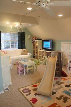 Stunning Basetment Playroom Ideas for Kids (17)